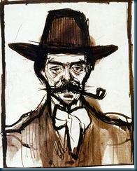 retrato de Anglaba camarasa por pablo Picasso