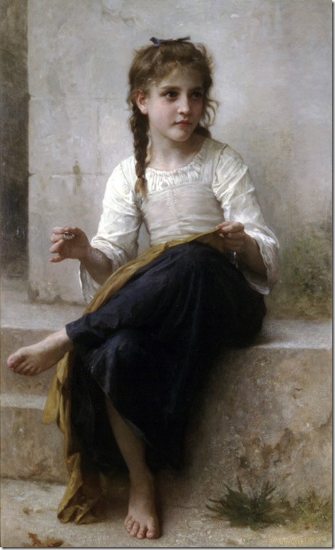 William-Adolphe_Bouguereau_(1825-1905)_-_Sewing_(1898)