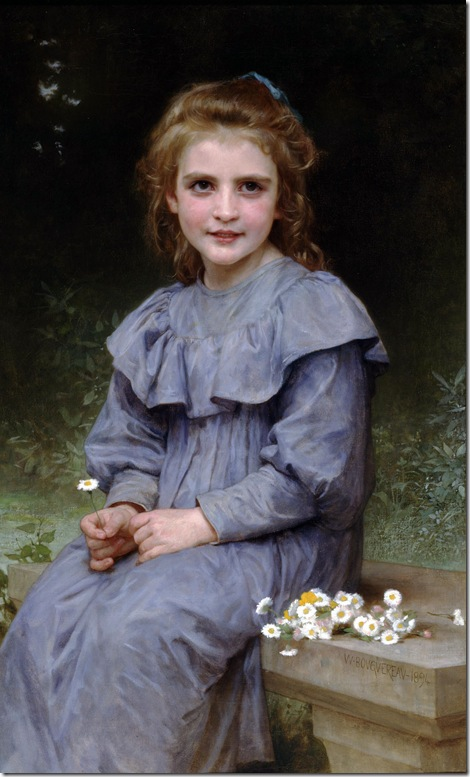 William Bouguereau - Daisies _1894_