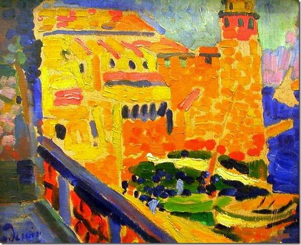 Andre Derain - Le phare de Collioure - 1905