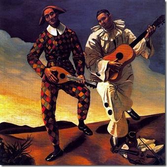 Arlequín et Pierrot 1924
