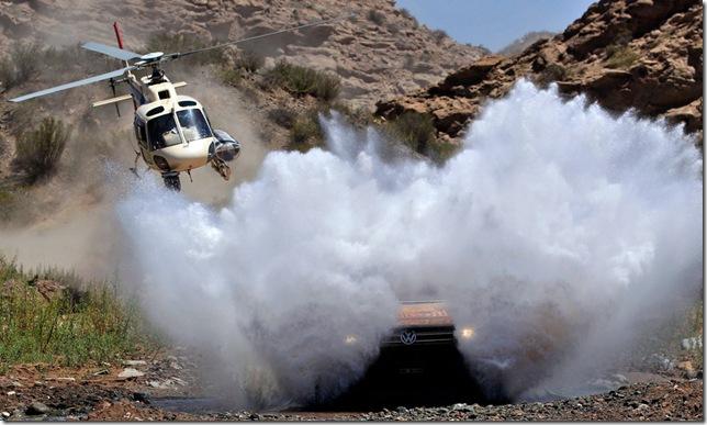 Volkswagen's Nasser Al-Attiyah - Dakar 2011