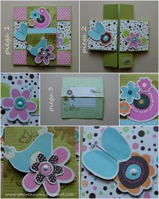 card 2 pieghe