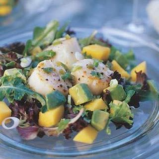 Scallops Mango Salad Recipes