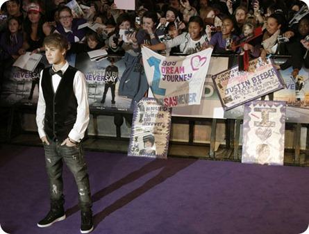 Justin Bieber en pelicula