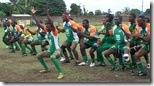 2009 Niger 'haka' at Lome