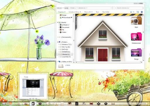 Color COOL Windows 7 Theme
