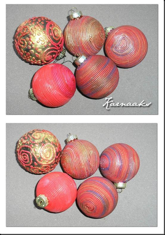 fimo filigree balls