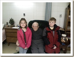 kids and grandpa