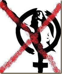 No al feminismo