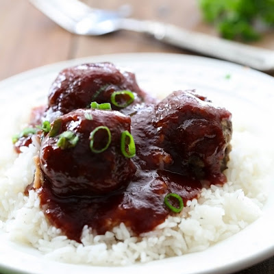 Homemade Meatballs with Sweet and Tangy Sauce