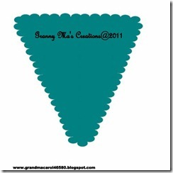 Scalloped pennant copy