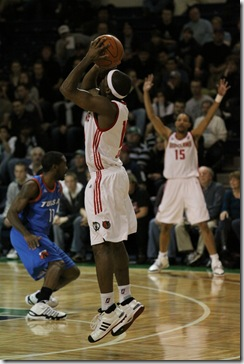 Red Claws vs Tulsa 66ers 020