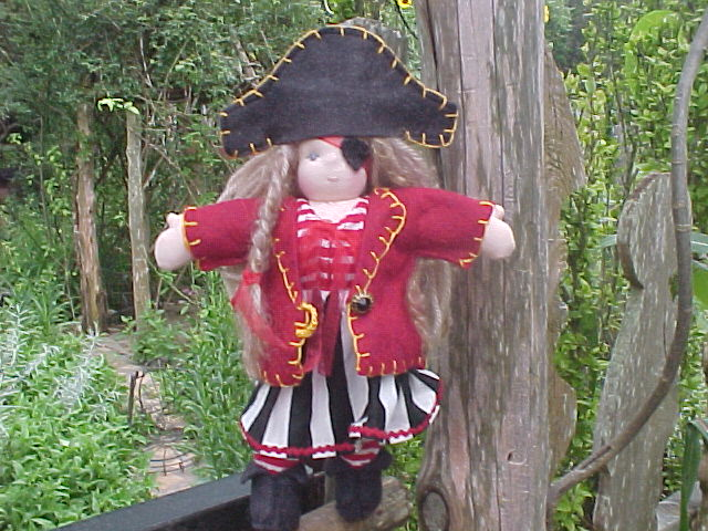 "8"" Pirate Girl - Aaaargh! (Semi-custom)"