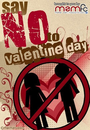 SAY NO TO V DAY
