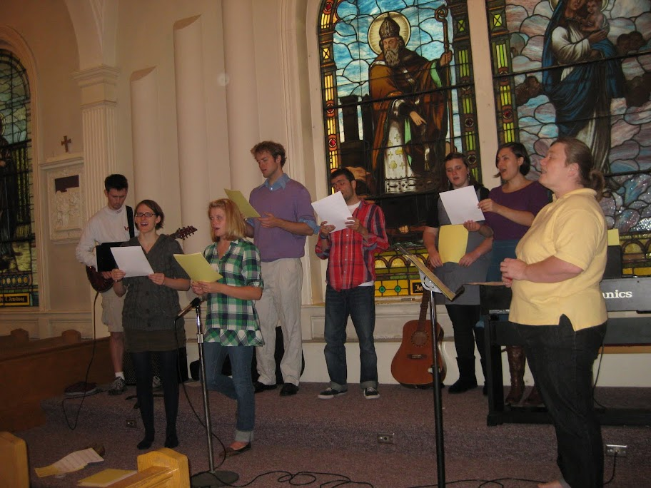 Music Group at Student Mass