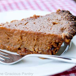 Clean Eating Sweet Potato Pie
