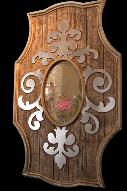 Fleur-de-Lis-Mirror