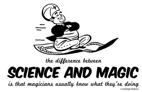 Magia contra ciencia