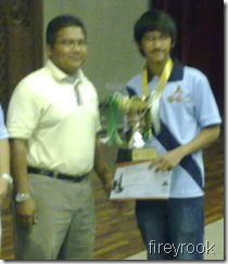Muhd Syazwan Zulkifli, U-21 Champion!