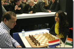 Tania Sachdev vs JW de Jong , Tata Steel Chess 2011