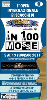 1st Cento International Chess In Bologna Italy 2011