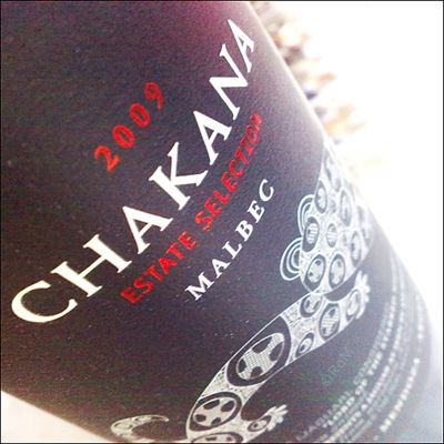 Chakana Estate Selection Malbec 2009