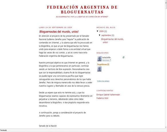 Federación Argentina de Bloguernautas