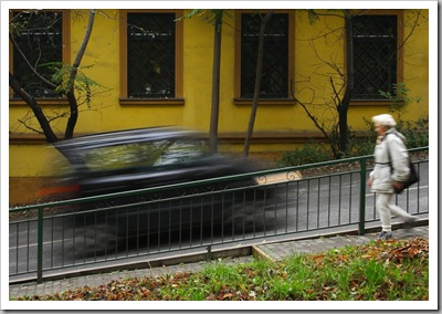 Egy szelet az én Óbudámból: Fel és le – Kiscelli lépcső, Óbuda, 2005