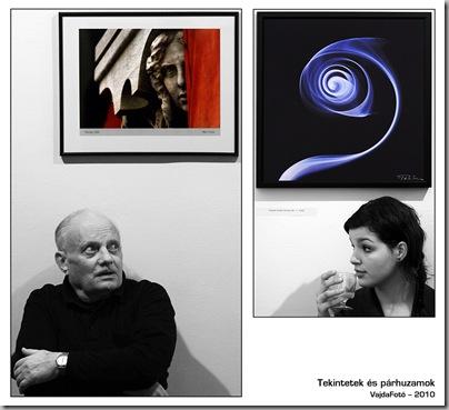 Tekintetek és párhuzamok - Duna Galéria, 2010. november 17.