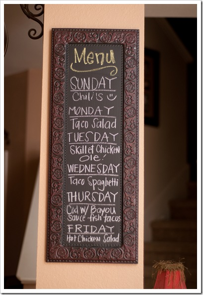menu monday