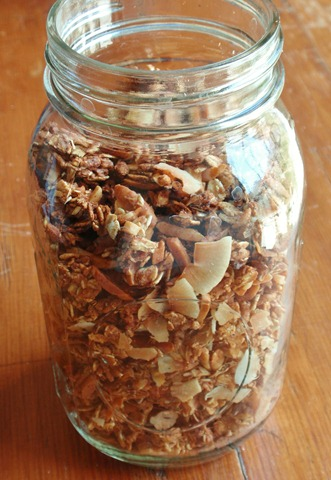 coconut and almond granola 5