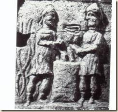 lapide ilirica eretta in onore dei forgiatori