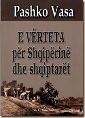 Copertina del libro, versione albanese