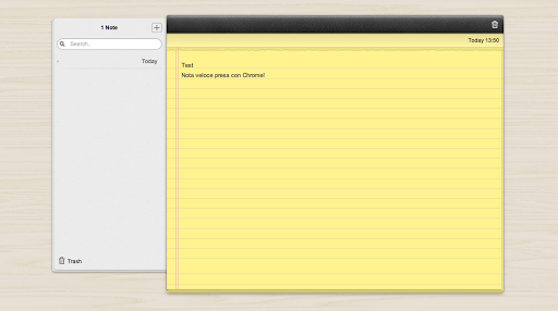 """Quick Note, disponibile nel nuovo store, è una vera """"applicazione"""" e non un link..."""