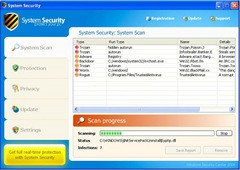 remove virus Security System