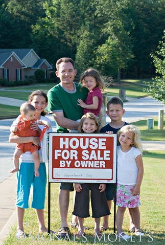 House for sale with family blog