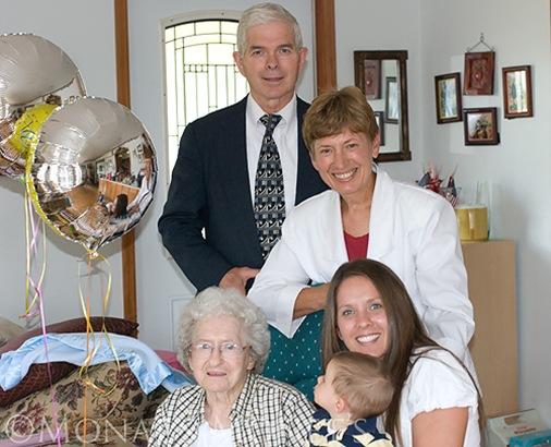 Grandma Hoff 90th Birthday blog