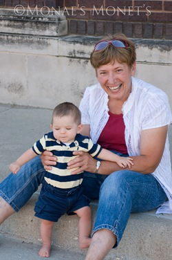 Grandma Bonnie with Scott 2