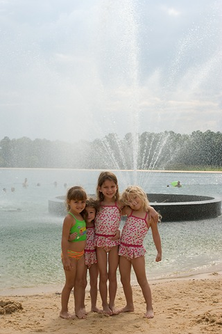 Girls by fountain at callaway blog