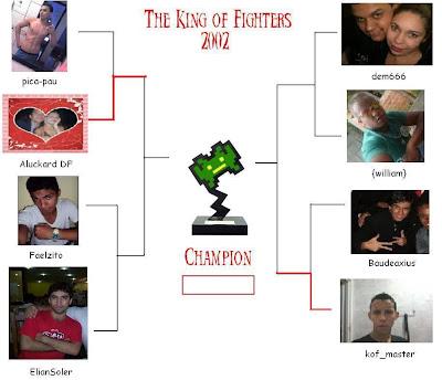 [Oficial] 1° Campeonato de KOF 2002 [OVER] Chaves
