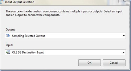 SSIS - Input Output Selection