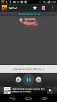 Screenshot of HydFM
