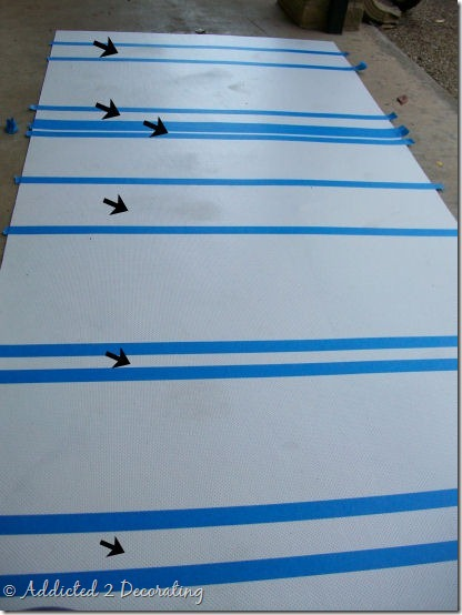 hand painted floor cloth 7