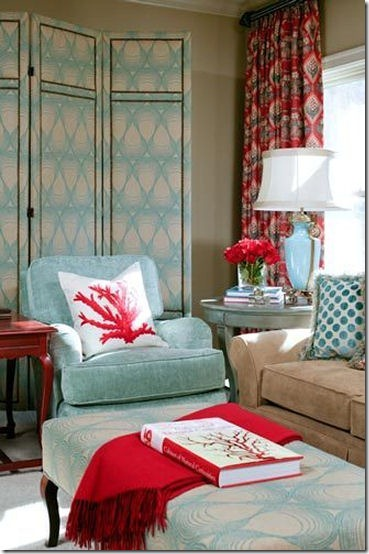 turquoise room 1