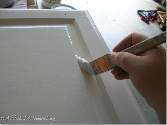 almost perfectly painted cabinet doors 4