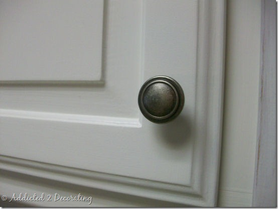 j and a kitchen pewter door knob