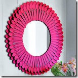 sunburst mirror from country living
