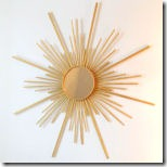 sunburst mirror from danielle oakey interiors