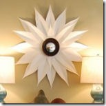 sunburst mirror from the nester